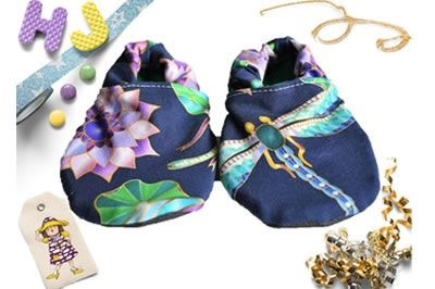 Click to order 12-18m Summer Stay on Booties Dragon Jewels now