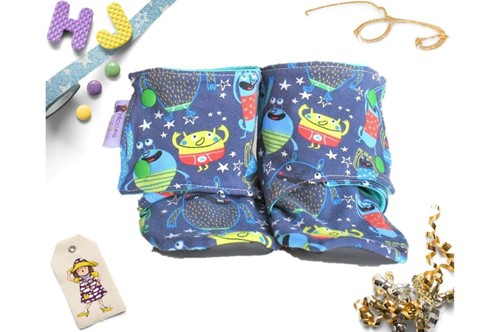 Click to order 18-24m Summer Stay on Booties Monsters now