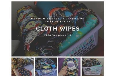 Click to order custom made Cloth Wipes