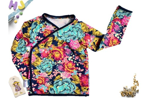 Click to order custom made Kimono Top