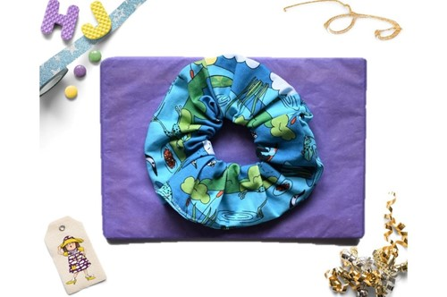 Click to order  Scrunchies Pondscape now