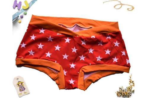 Click to order XXL Boyshorts Red Stars now