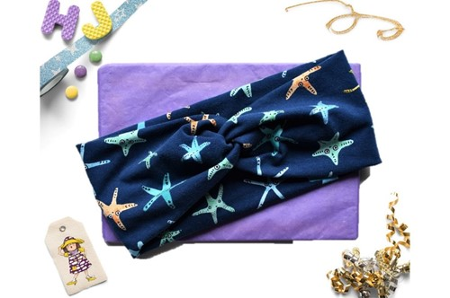 Click to order  Faux Twist Headband Starfish now