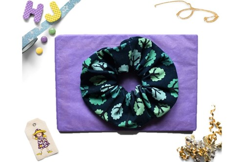 Click to order  Scrunchies Teal Forest now