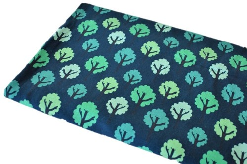 Click to order custom made items in the Teal Forest fabric