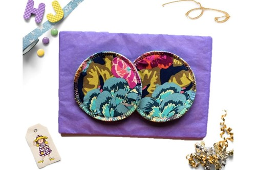 Click to order  Breast Pads Vintage Blooms now