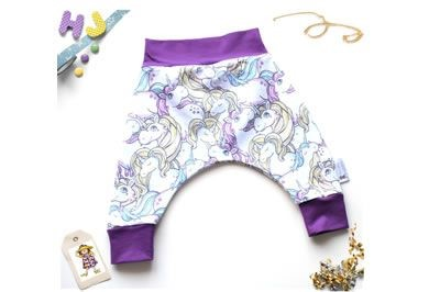 Click to order 0-3m Harems Curvy Unicorns now