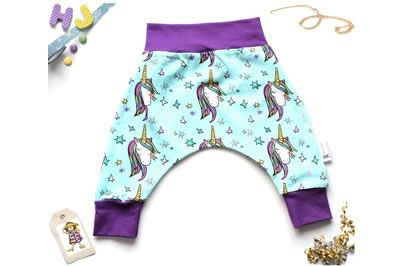 Click to order 0-3m Harems Mint Unicorns now