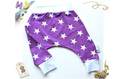 Click to order 3-6m Harems Purple Stars now