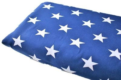 Click to order custom made items in the Dark Blue Stars fabric