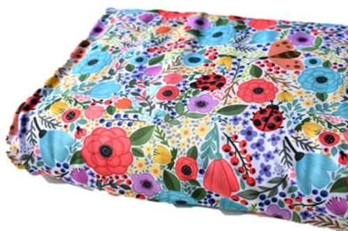 Click to order custom made items in the Garden Flowers Swim fabric