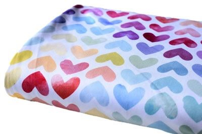 Click to order custom made items in the Hearts Swim fabric