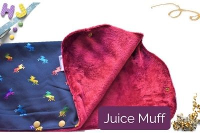 Order Juice Muff to be custom made on this page