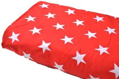 Click to order custom made items in the Red Stars fabric