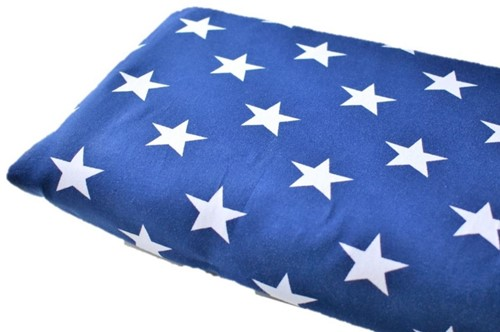 Click to order custom made items in the Royal Blue Stars fabric