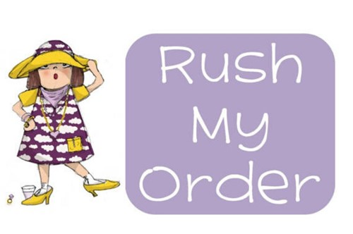 Order Rush My Order to be custom made on this page