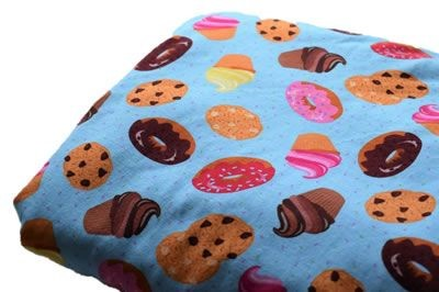 Click to order custom made items in the Sweet Treats fabric