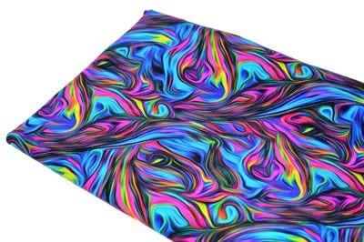 Click to order custom made items in the Teal and Pink Swirls fabric