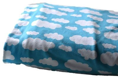 Click to order custom made items in the Turquoise Clouds fabric