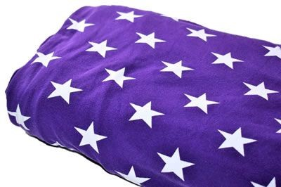 Click to order custom made items in the Violet Stars fabric