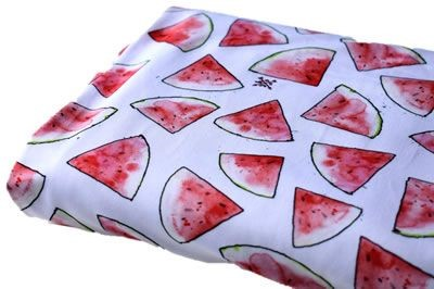 Click to order custom made items in the Watermelons Swim fabric