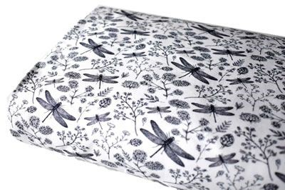 Click to order custom made items in the White Dragonflies fabric