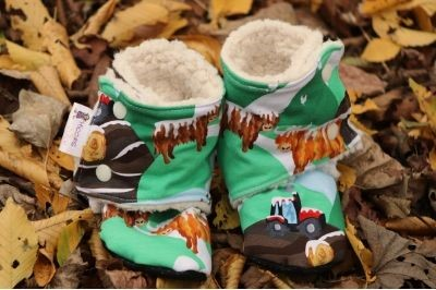 Order Sherpa Stay on Booties to be custom made on this page